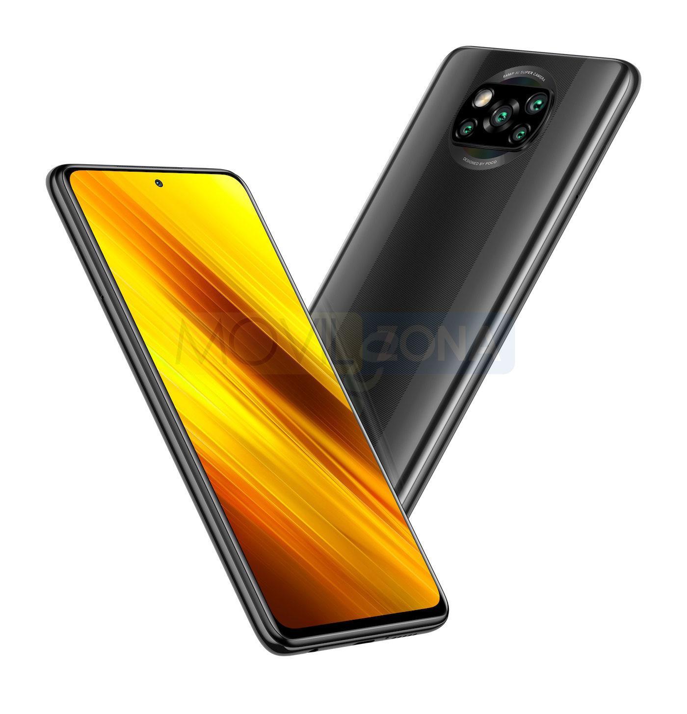 Poco X3 NFC diseño