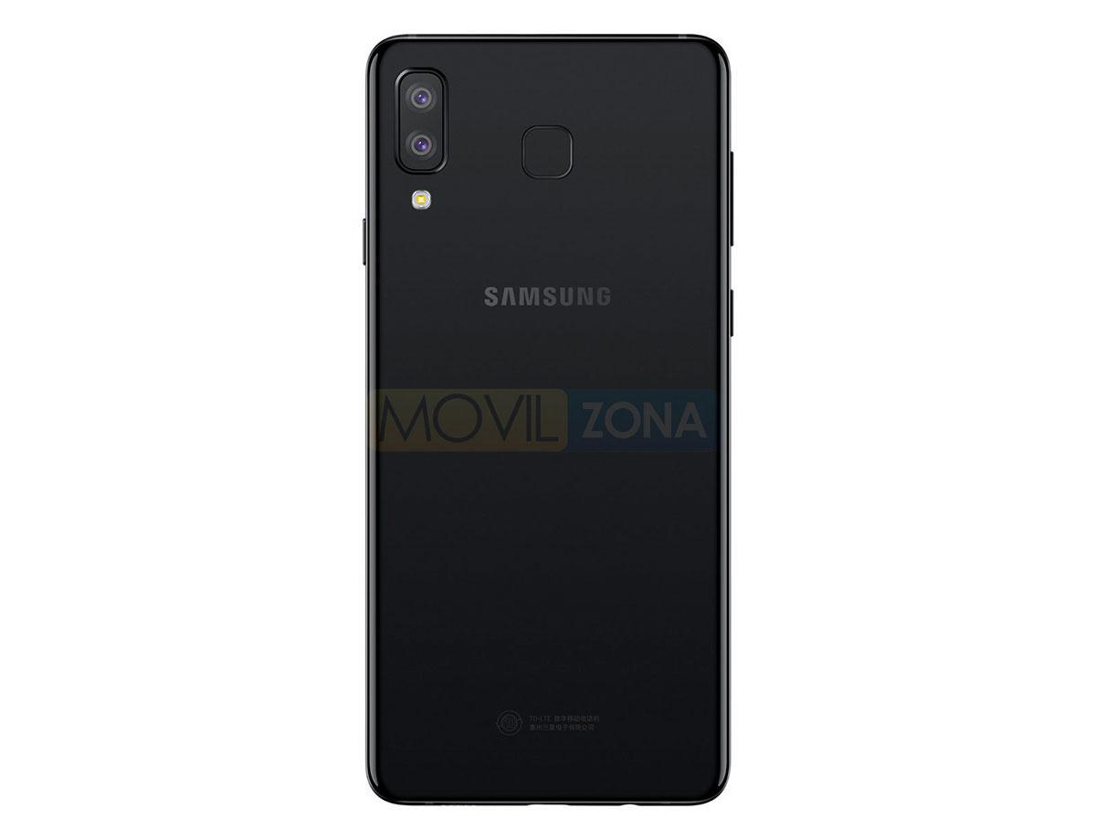 Samsung Galaxy A9 star cámara