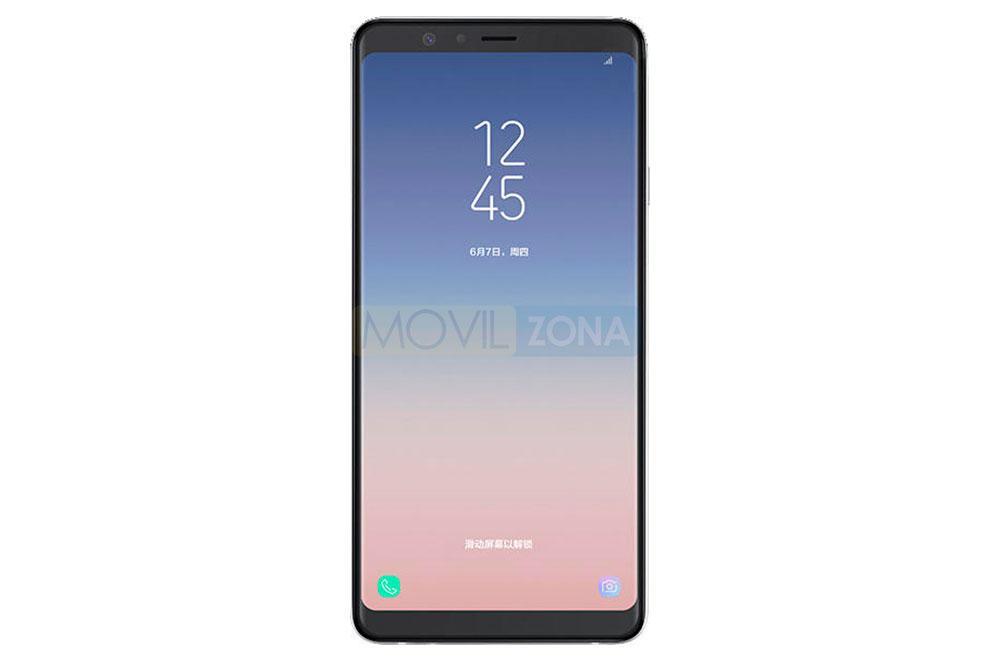 Samsung Galaxy A9 star pantalla