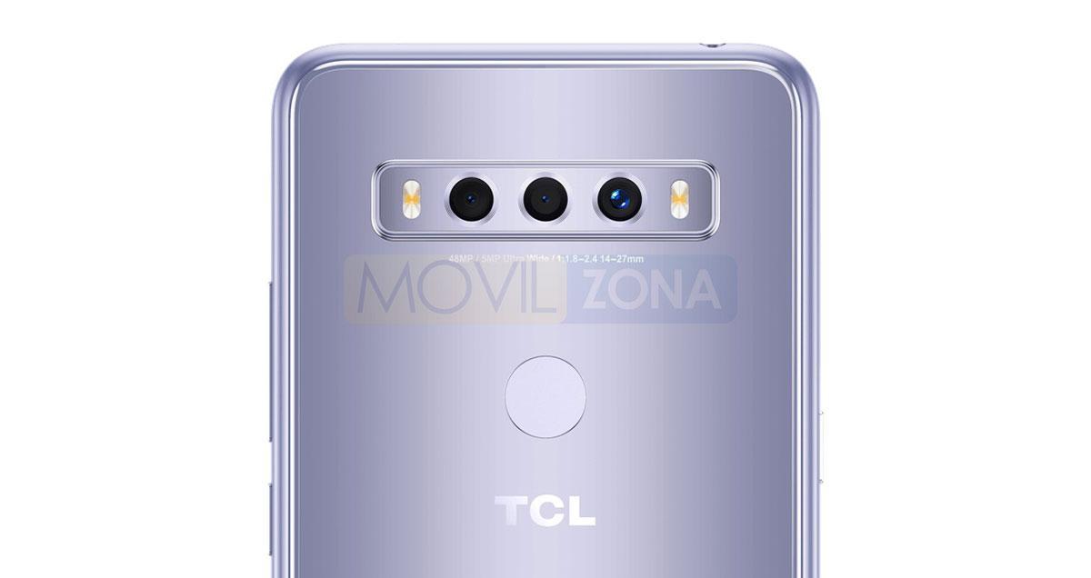 TCL 10 SE cámara