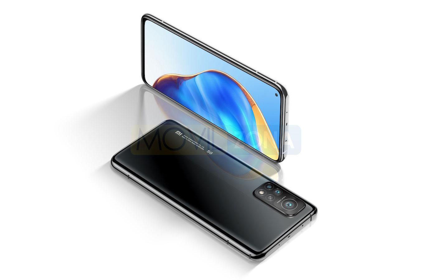 Xiaomi Mi 10T Pro diseño