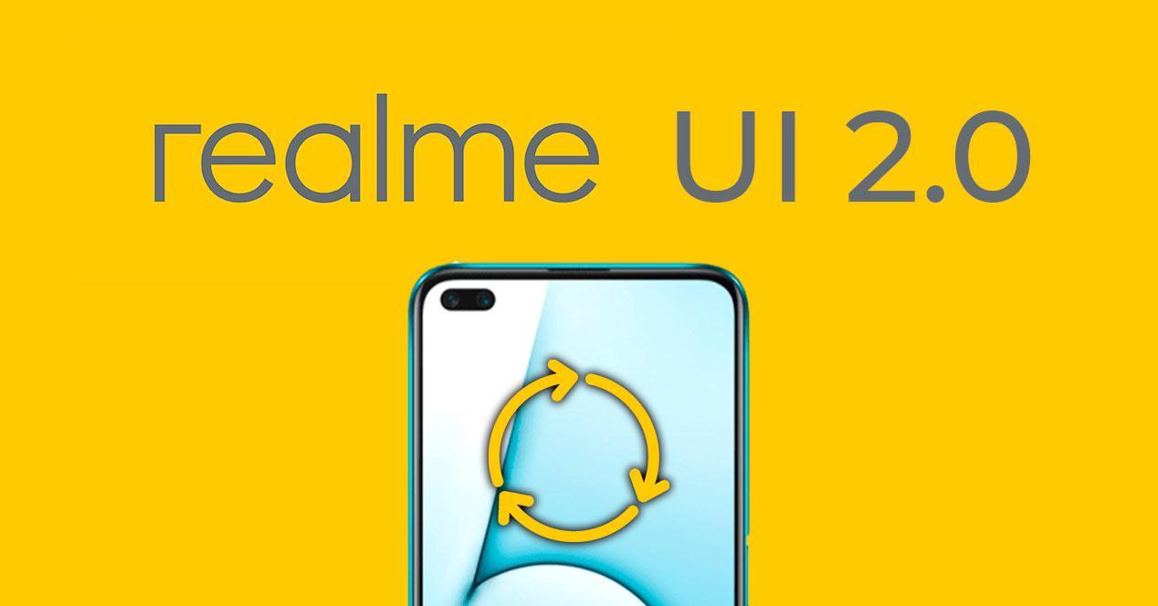 actualización realme ui 2.0