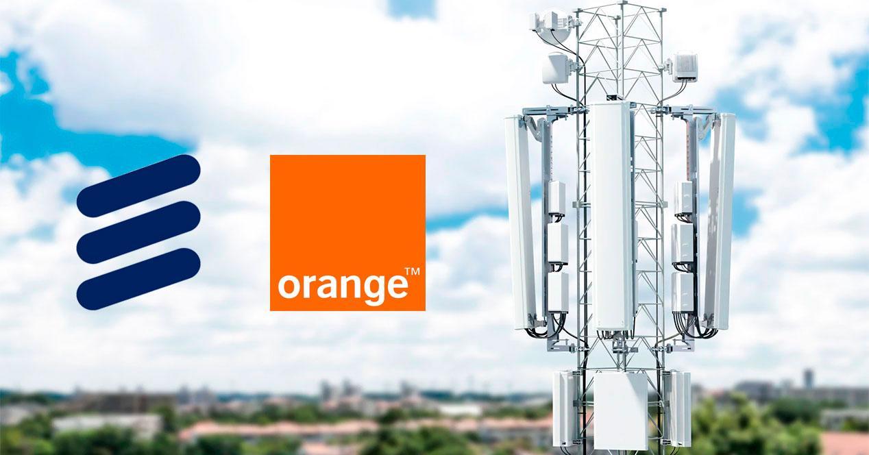 redes 5g Orange