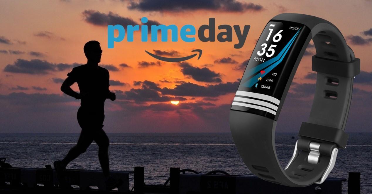 Amazon Prime Day y hombre corriendo