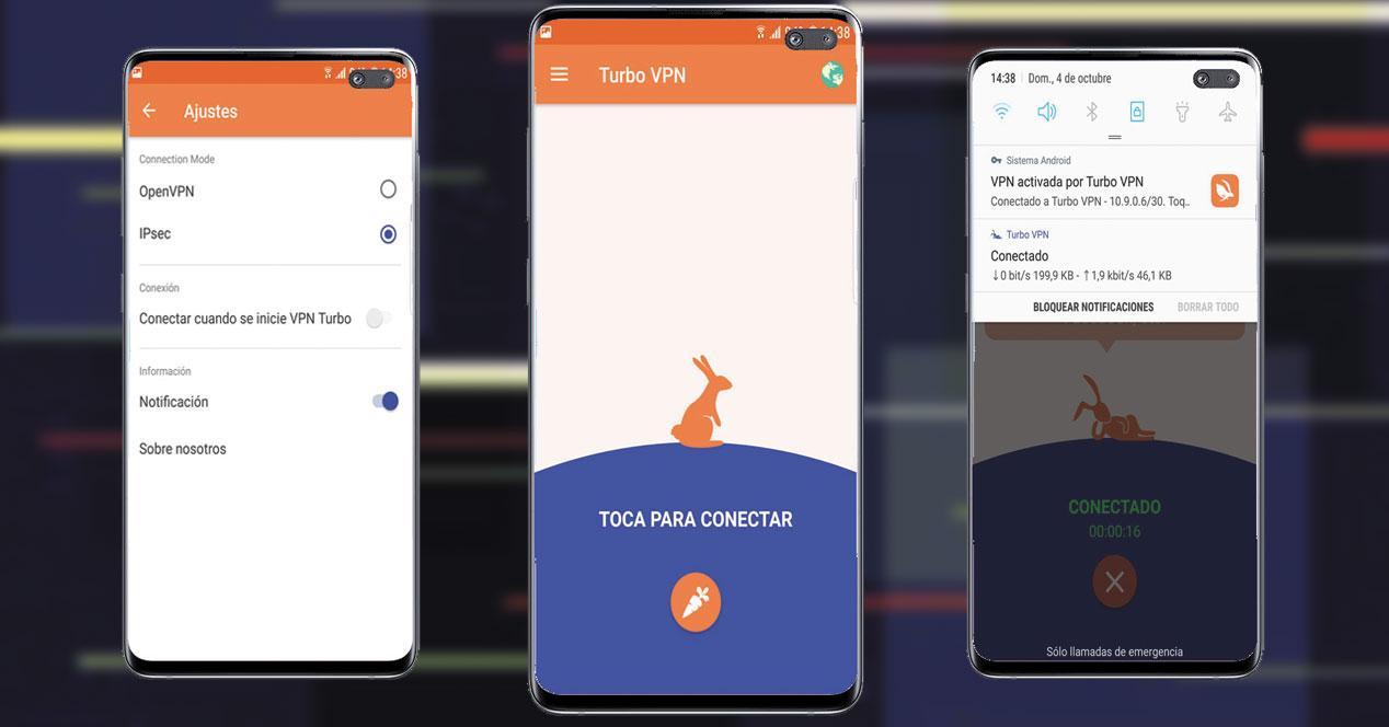 Aplicación Turbo VPN