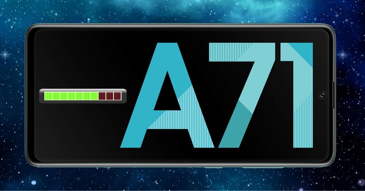 Galaxy A71 actualización