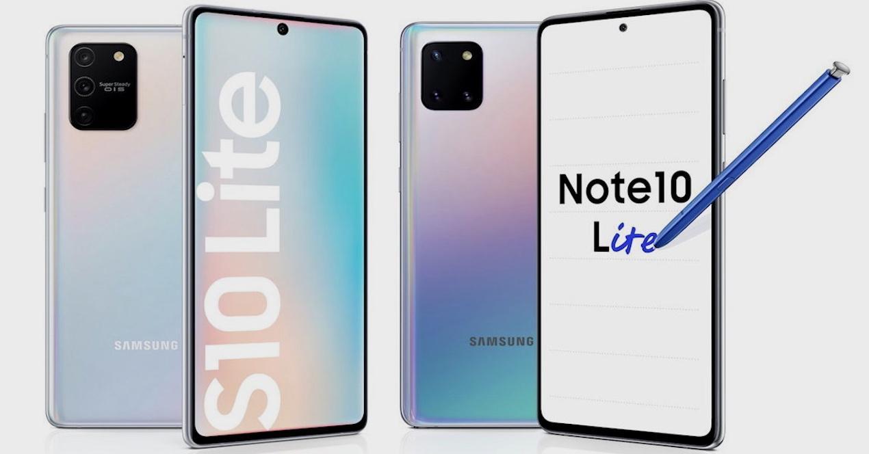 S10 Lite Note 10 Lite