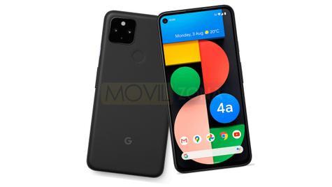 Google Pixel 4a 5G diseño