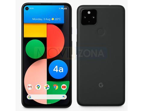 Google Pixel 4a 5G negro
