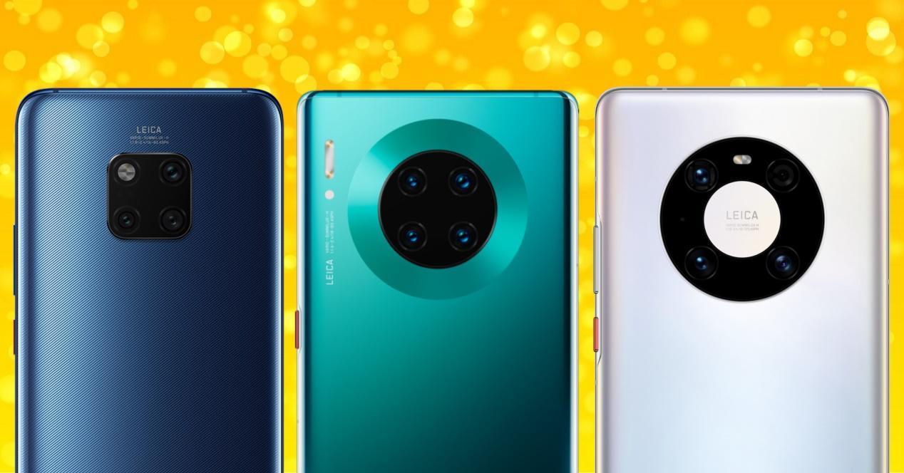 Huawei Mate 20 Pro vs mate 30 pro vs mate 40 pro
