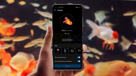 Huawei Mate 40 en mano