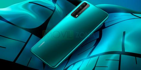 Huawei P Smart 2021 verde