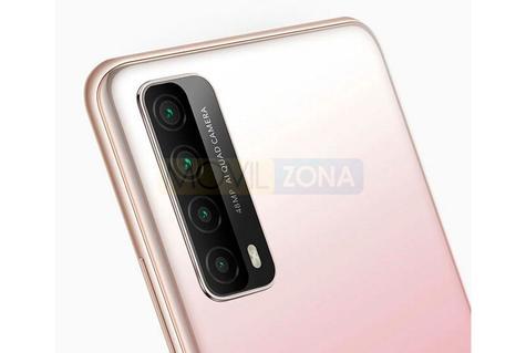 Huawei P Smart 2021 cámara
