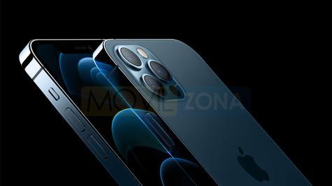 iPhone 12 Pro diseño azul