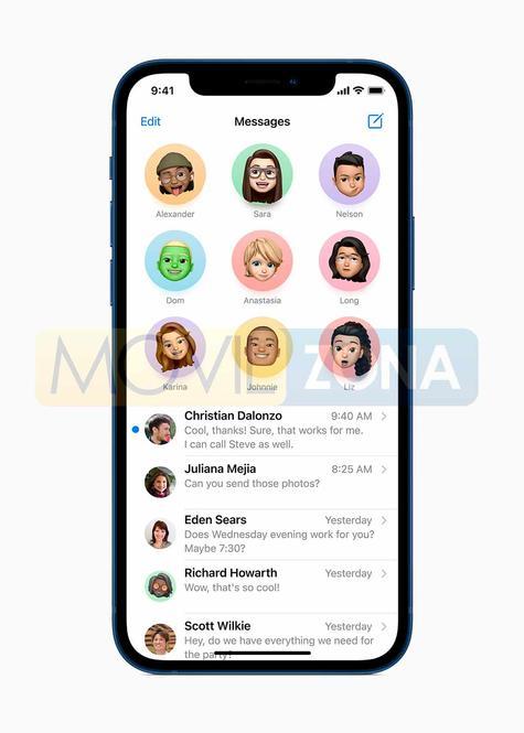 iPhone 12 + iPhone 12 Mini navegación