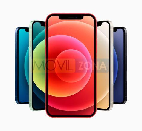 iPhone 12 + iPhone 12 Mini colores
