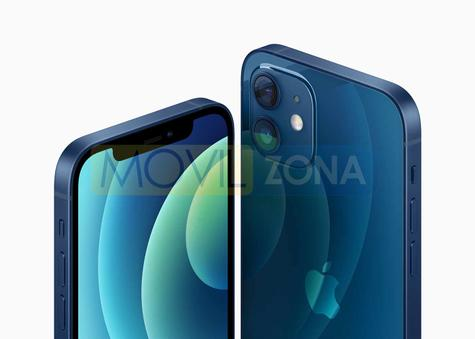 iPhone 12 + iPhone 12 Mini azul