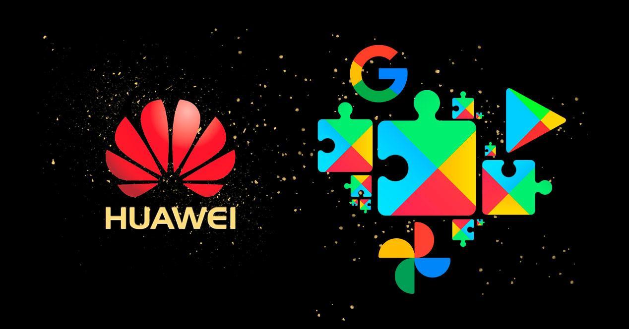 instalar google huawei