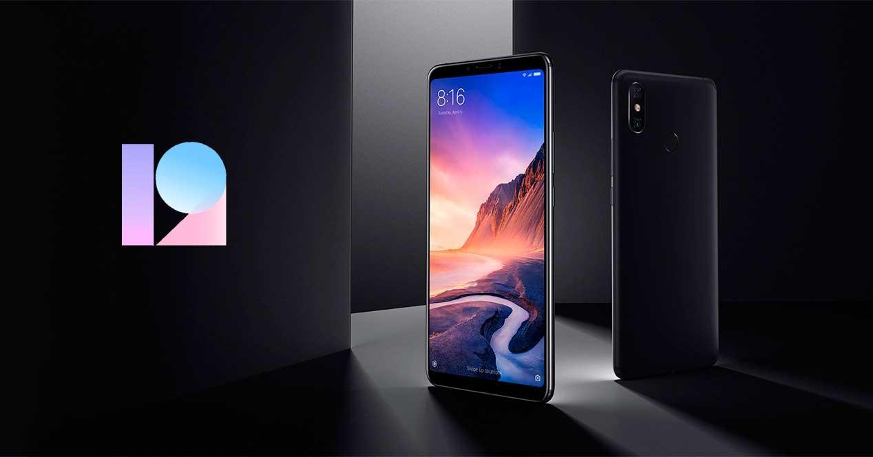 MIUI 12 Xiaomi Mi Max 3