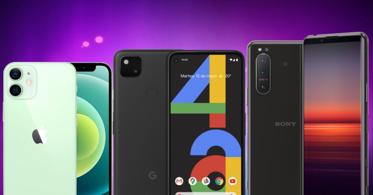 móviles compactos 2020