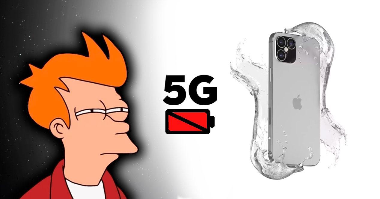 problema bateria iphone 12 5g