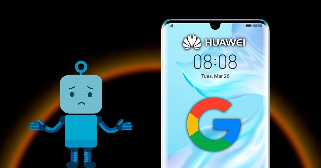 problemas huawei google