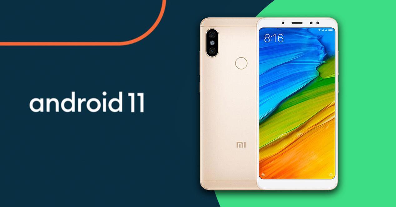 Android 11 Xiaomi Mi 5