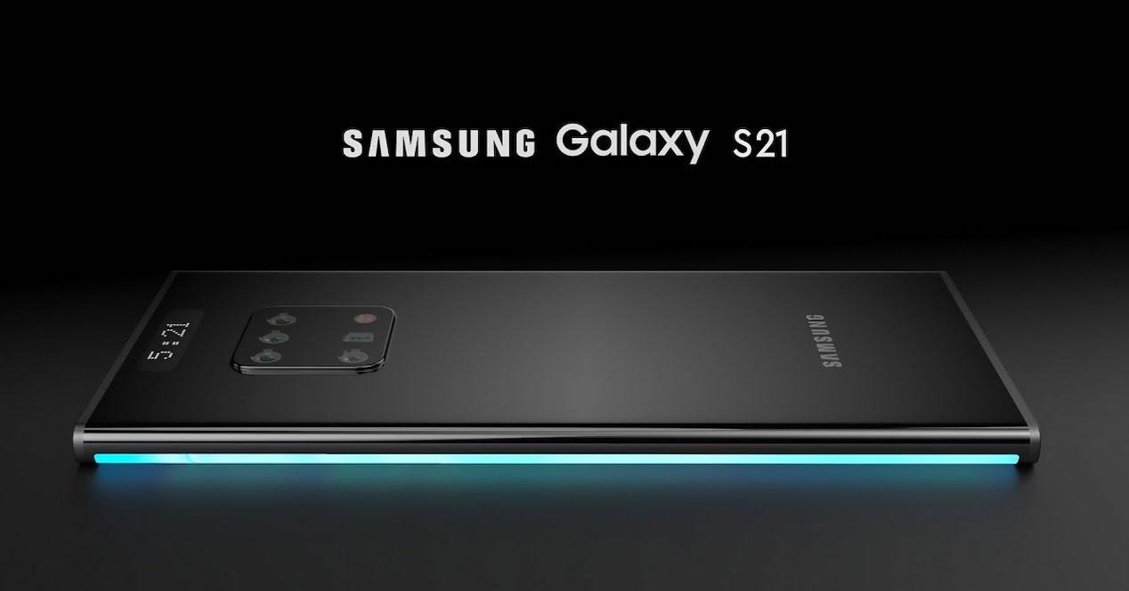 Galaxy S21 concepto
