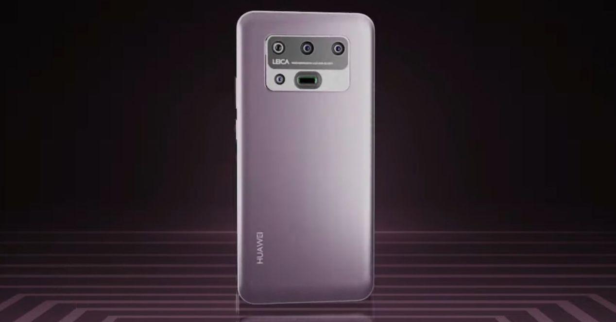 Huawei P50 concepto