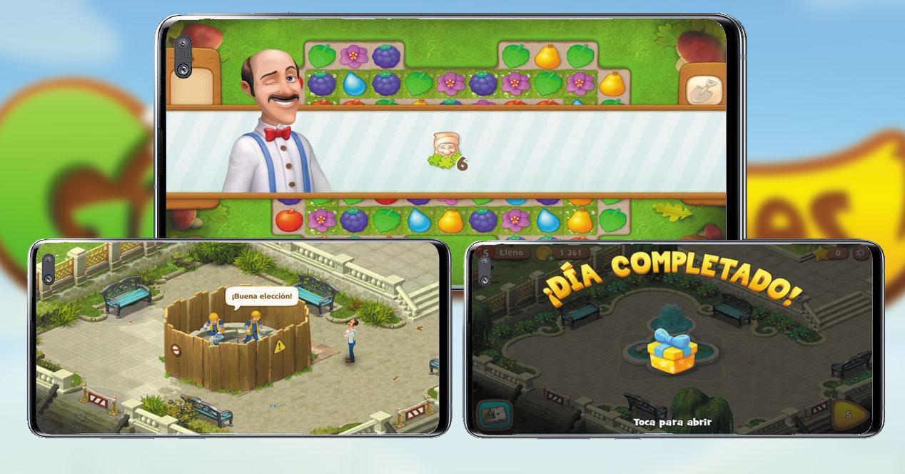 Juego Android Gardenscapes