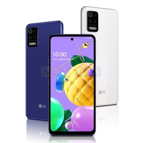 LG K62 colores