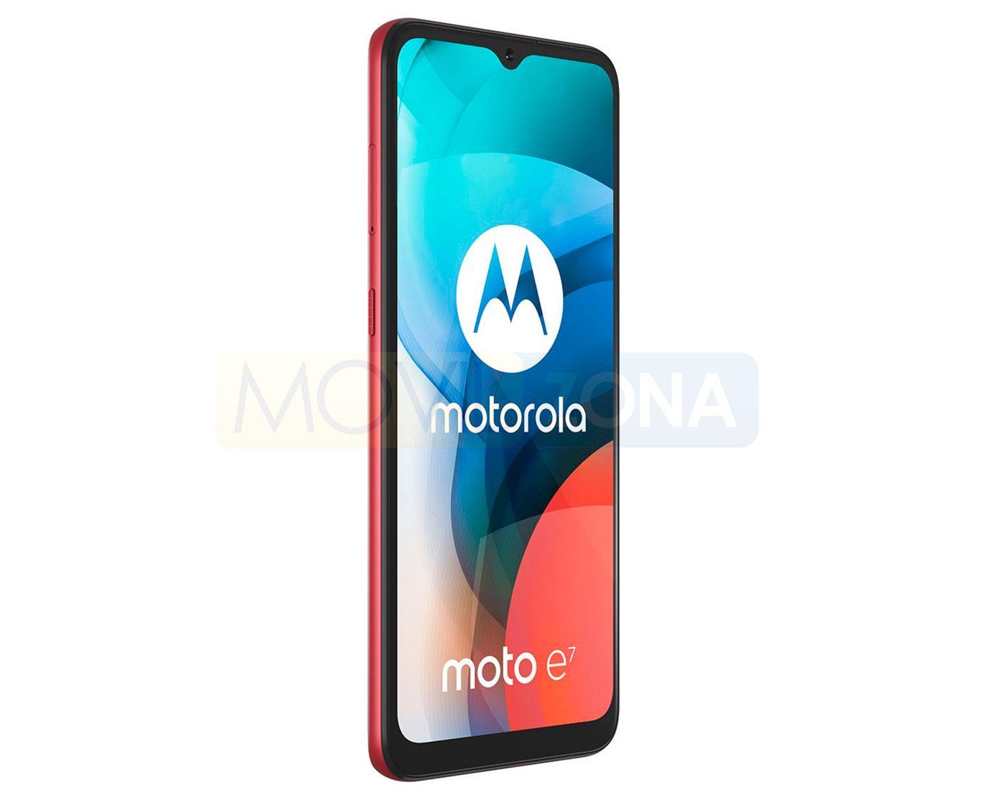 Moto E7 pantalla