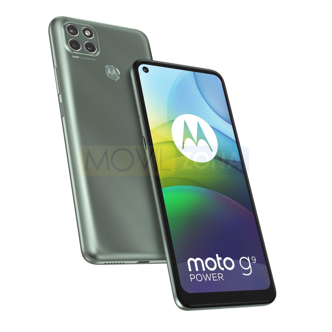 Moto G9 Power verde