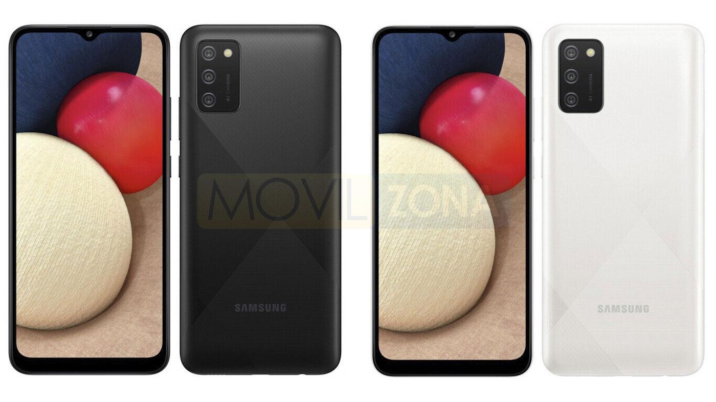 Samsung Galaxy A02s diseño