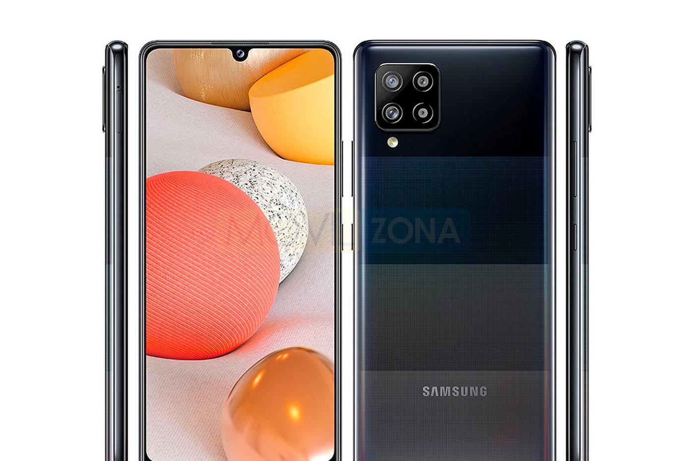 Samsung Galaxy A42 5G diseño