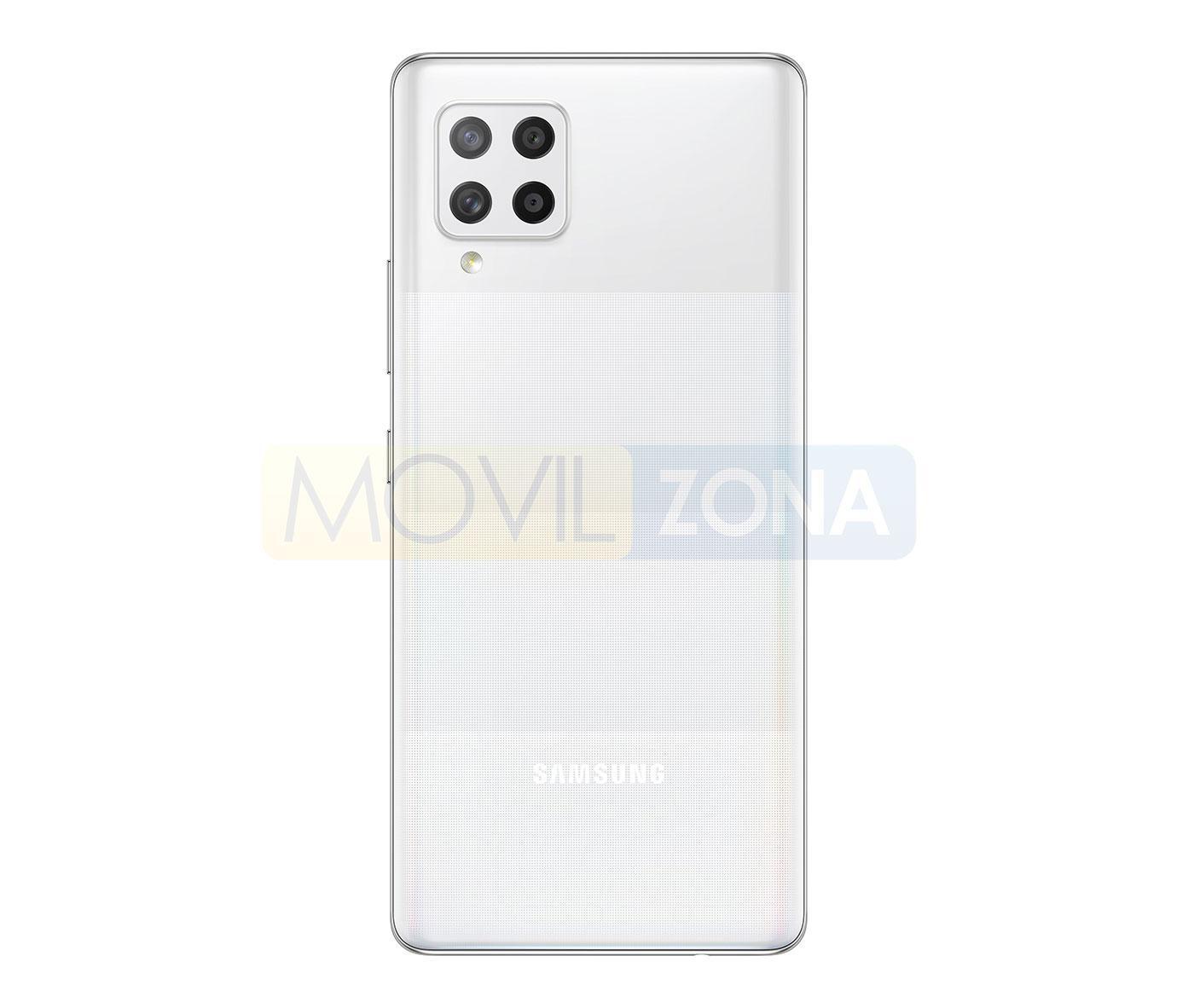 Samsung Galaxy A42 5G blanco