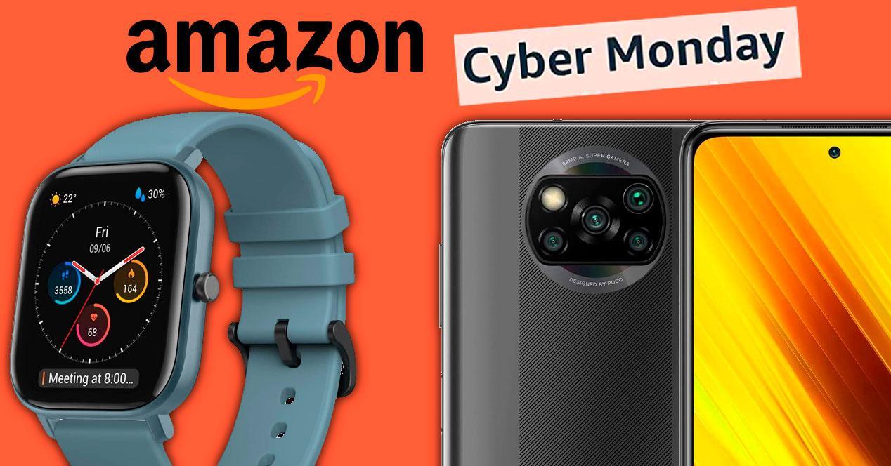 ofertas cyber monday 2020 móviles amazon