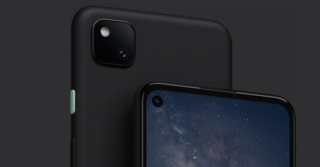 cámara pixel 4a