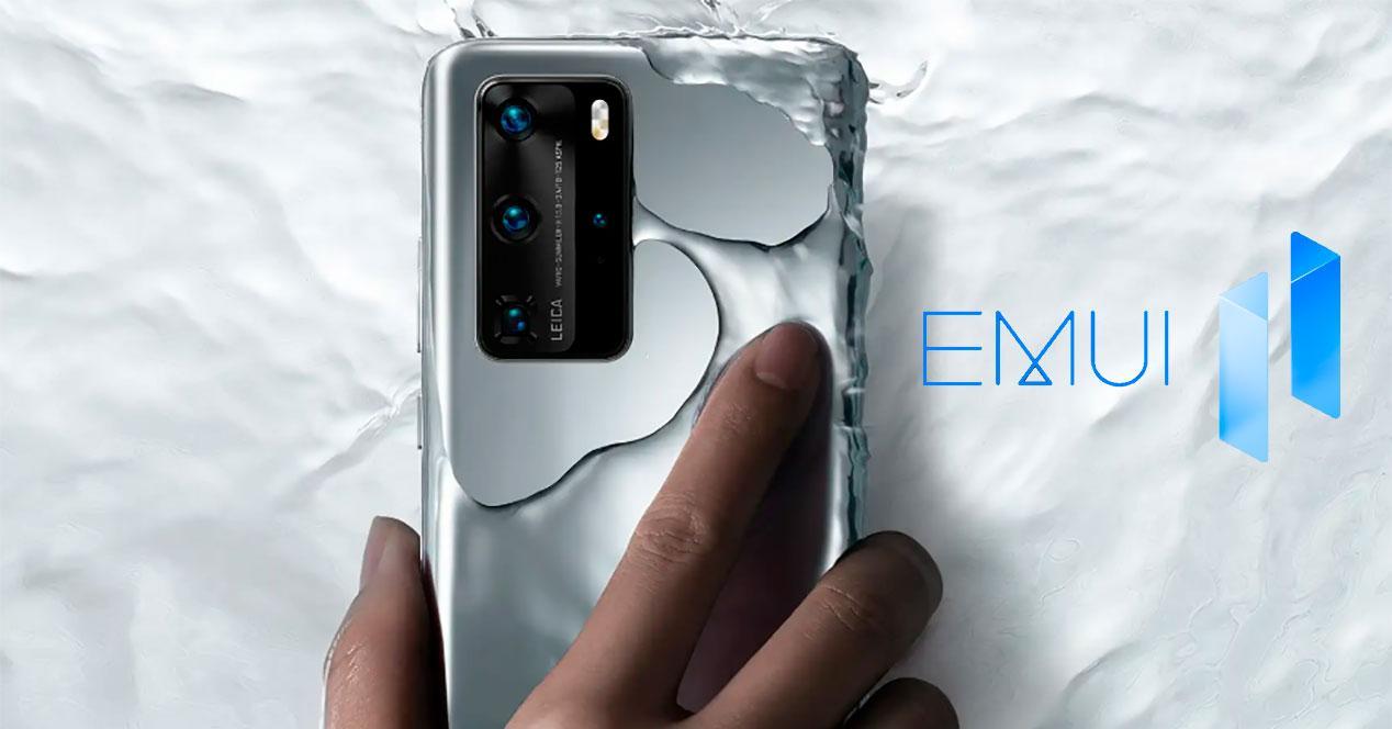 Huawei P40 EMUI 11