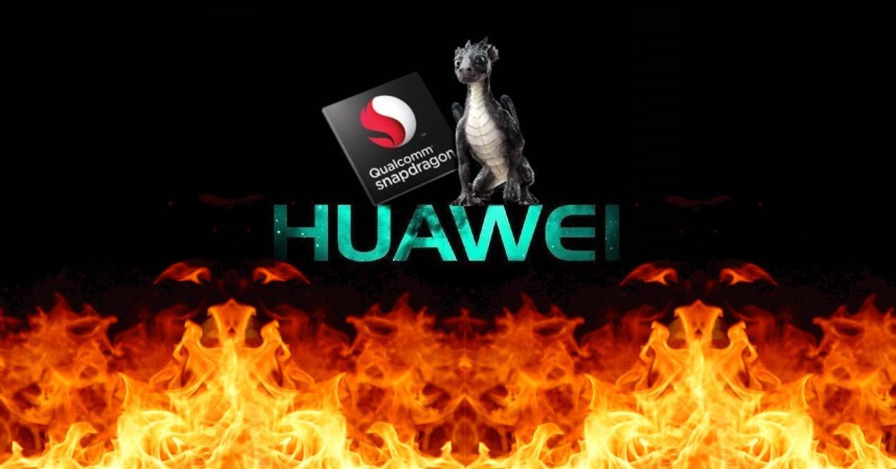 huawei y logo snapdragon