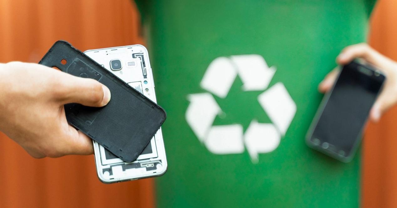 reciclar móvil