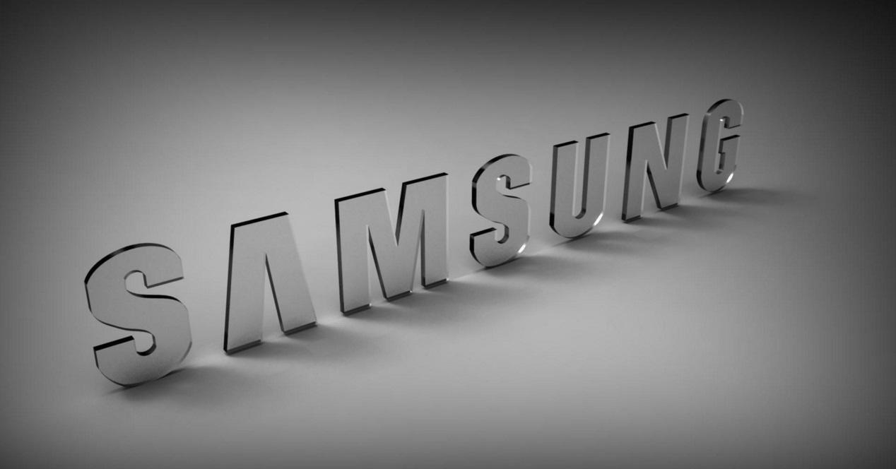 samsung logo gris