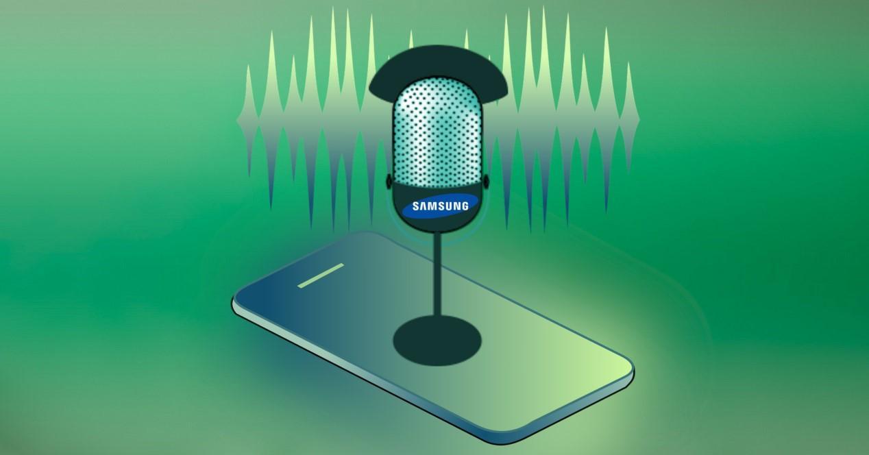 samsung voz reconocimiento