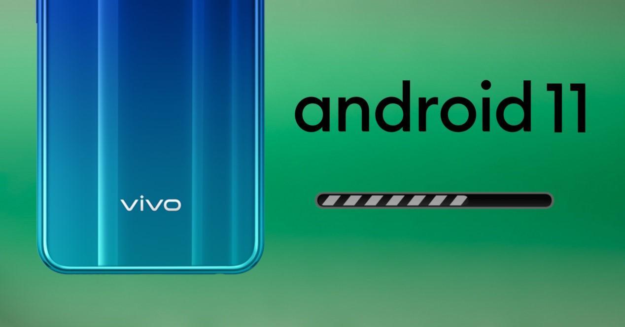 vivo actualizacion a android 11