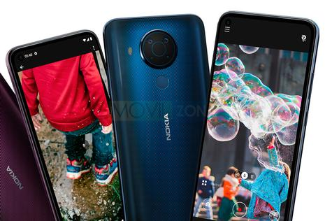 Nokia 5.4 diseño