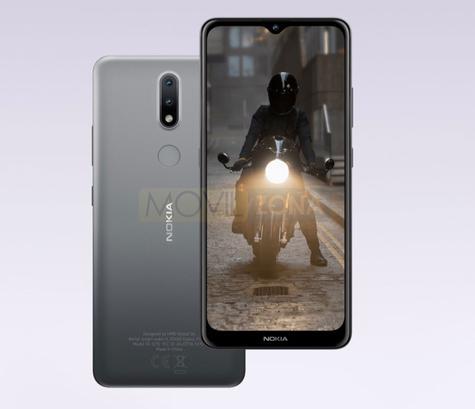 Nokia 2.4 diseño