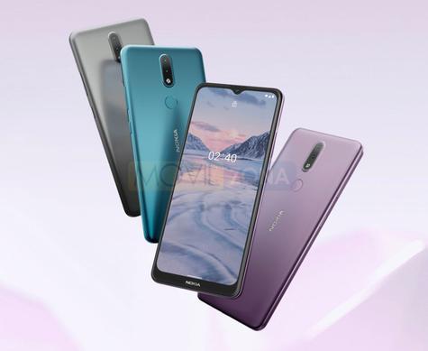 Nokia 2.4 colores