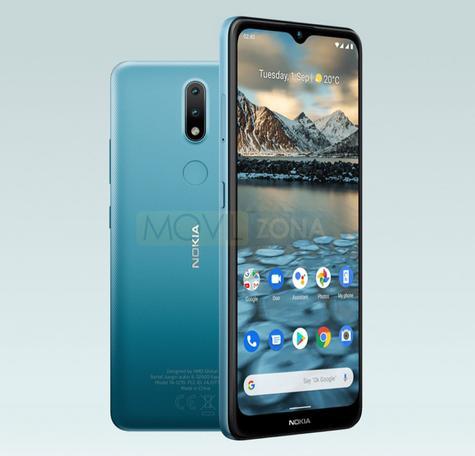 Nokia 2.4 azul