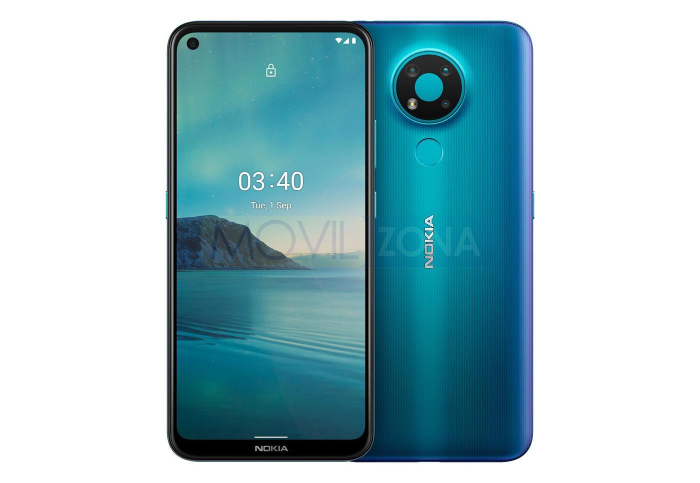 Nokia 3.4 azul