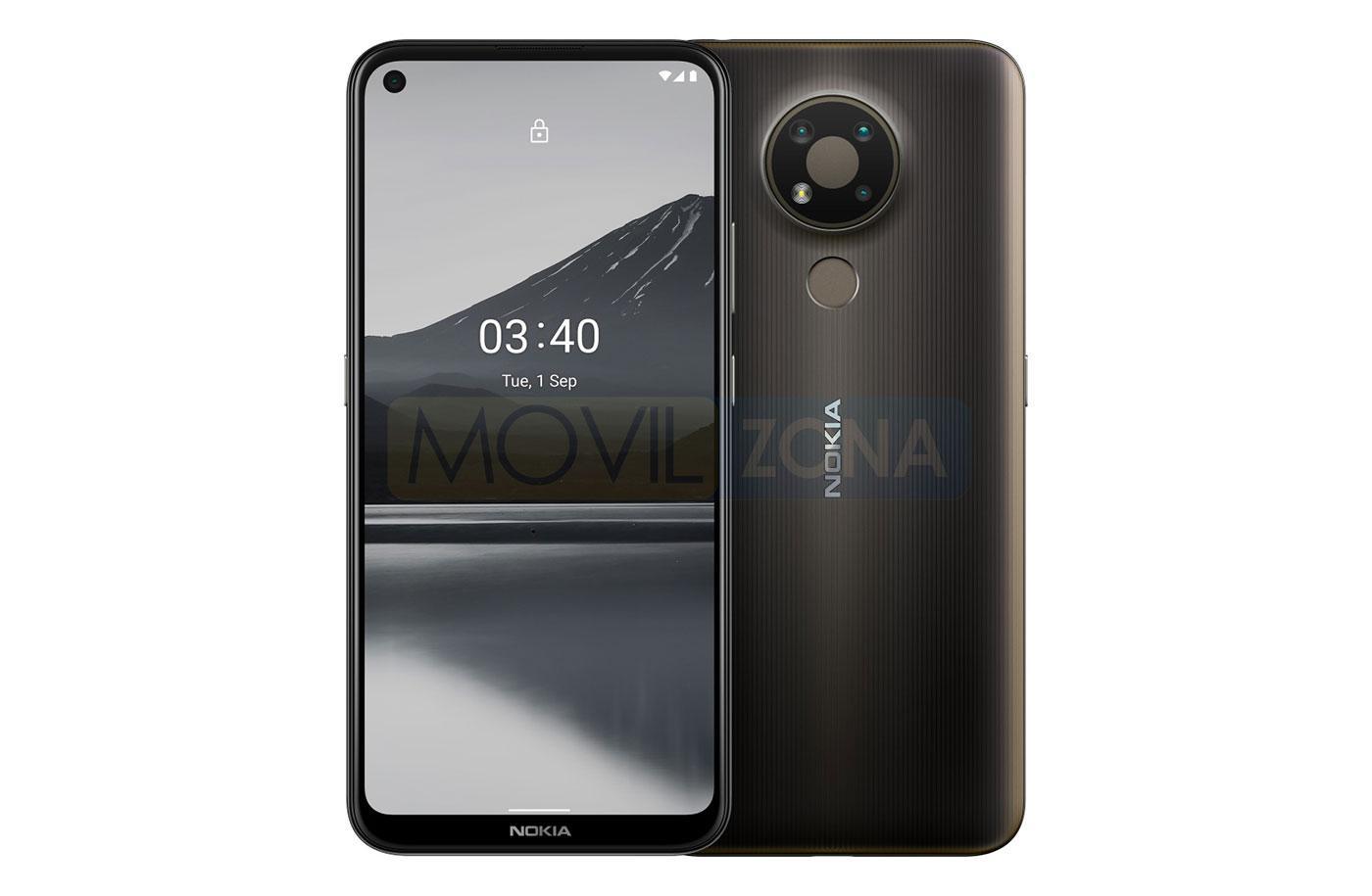 Nokia 3.4 marrón